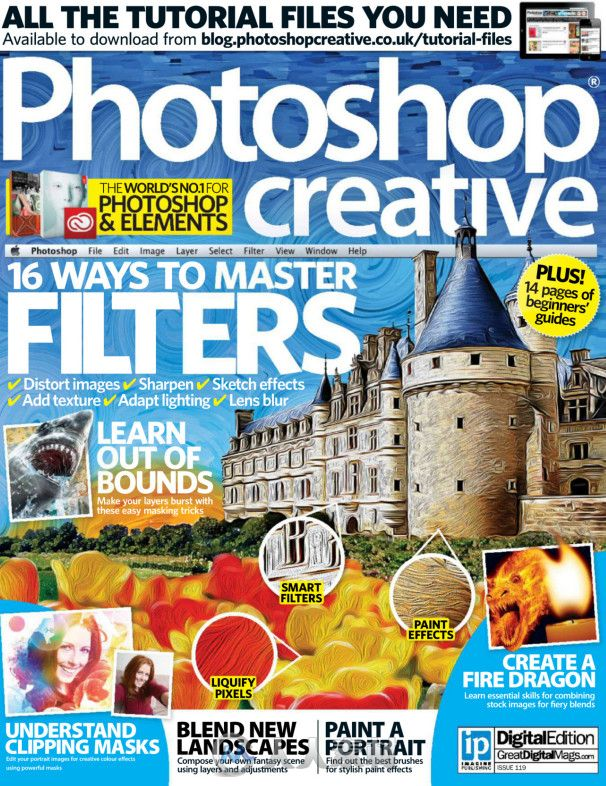 Photoshop创意杂志2014年第119期 Photoshop Creative Issue 119 2014