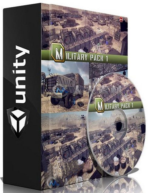 Unity游戏扩展资料 Unity Military Pack 1 Micheal K4