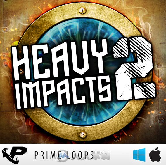 PrimeLoops影视级音效库第二季 Prime Loops Heavy Impacts Vol 2