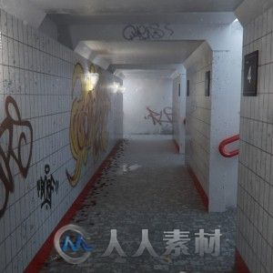 C4D中Vray火车站楼廊制作视频教程 Curse Studio The Train Station Tutorial VrayForC4D