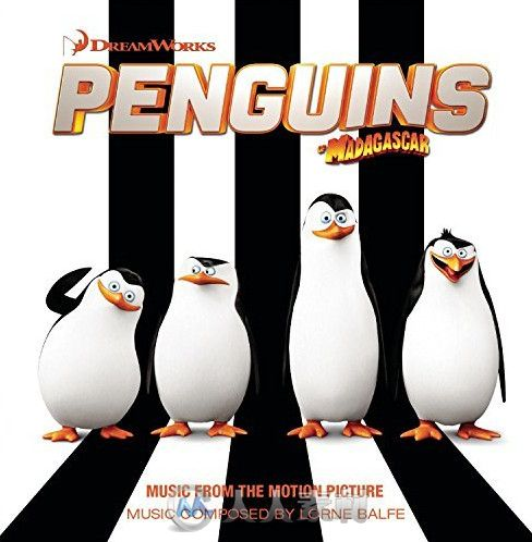 原声大碟 - 马达加斯加的企鹅 (Penguins Of Madagascar)Music From The Motion Picture