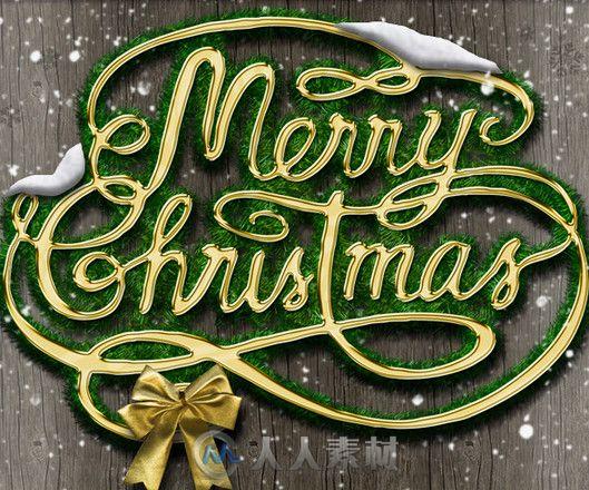 圣诞风格平面设计包装辑PS模板 Graphicriver Christmas Styles Photoshop Creation Kit 9750672
