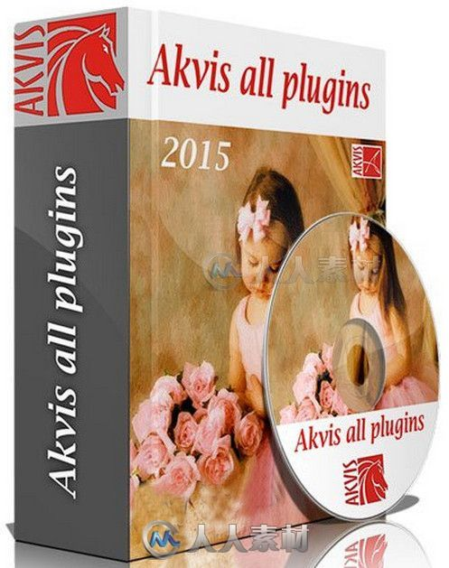 Akvis全系列平面设计PS插件合辑V09.2015版 AKVIS Plugins Bundle 2015 for Adobe Photoshop 09.2015