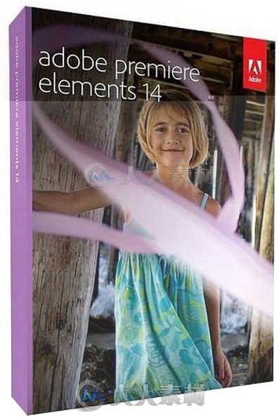 PremiereElements软件编辑视频V14.0版Ado动漫视频凹凸图片