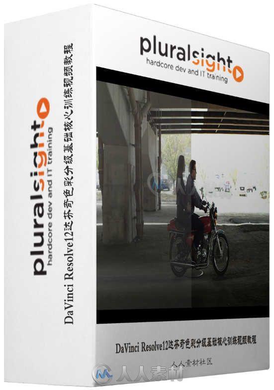 DaVinci Resolve12达芬奇色彩分级基础核心训练视频教程 Digital-Tutors Introduction to Color Grading in DaVinci Resolve
