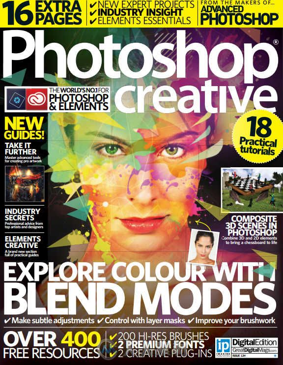 Photoshop创意杂志2015年第134期 Photoshop Creative Issue 134 2015