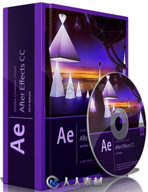 After Effects CC 2015影视特效软件V13.6.1版 Adobe After Effects CC 2015 13.6.1 Multilingual Win Mac