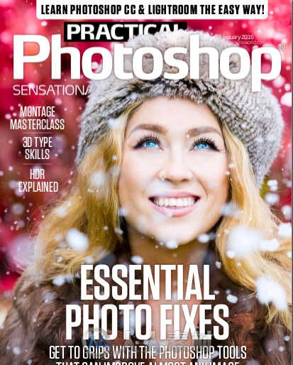 Photoshop技术指南杂志2016年1月刊 Practical Photoshop January 2016