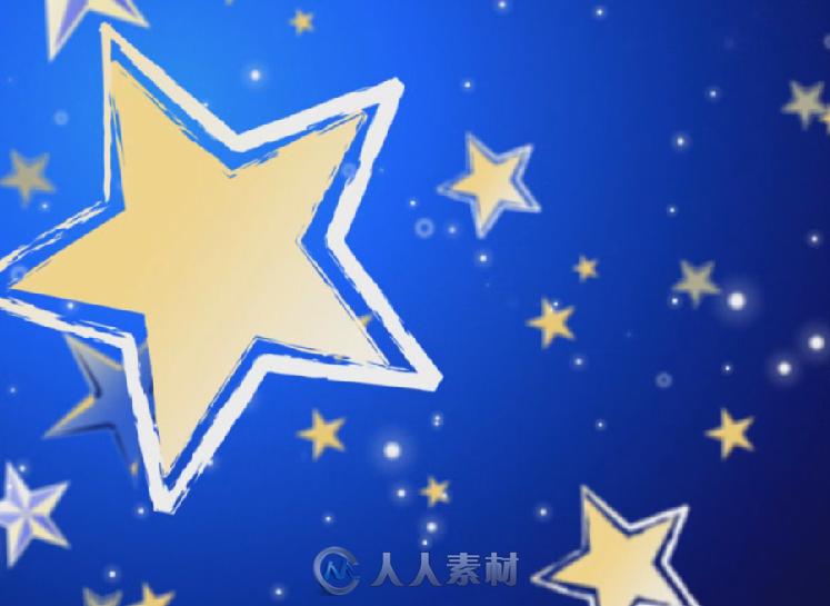 2组放大射光音符晚会婚礼五角星led背景视频素材