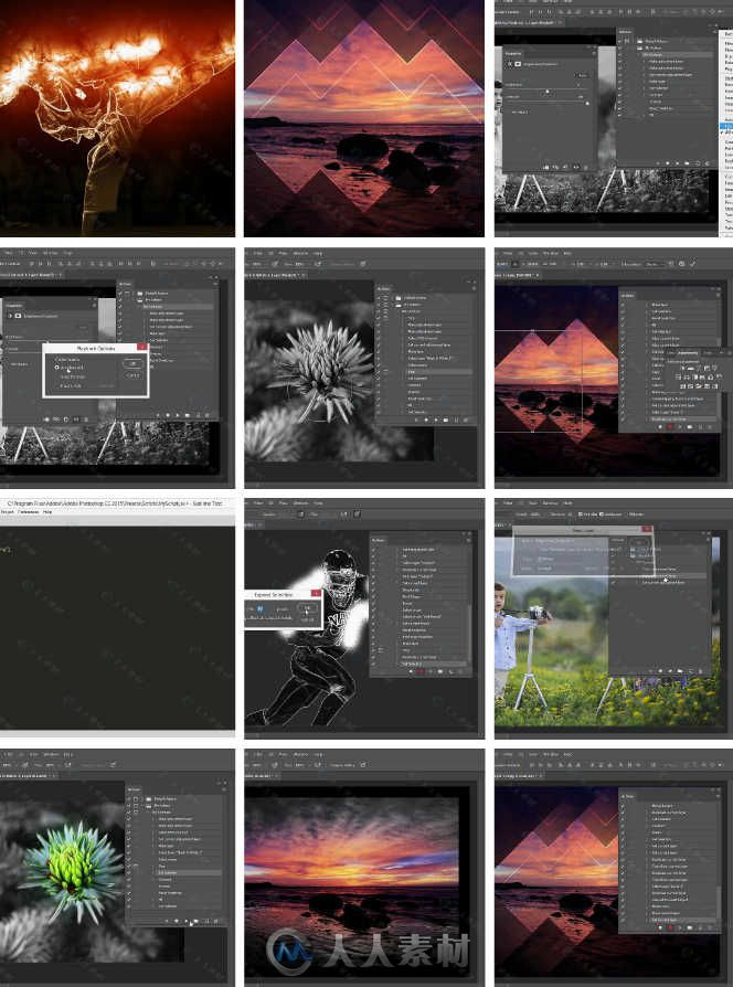 PS动作脚本使用技巧视频教程 Pluralsight Harnessing the Power of Photoshop Actions76 / 作者:抱着猫的老鼠 / 帖子ID:16653350,2839041