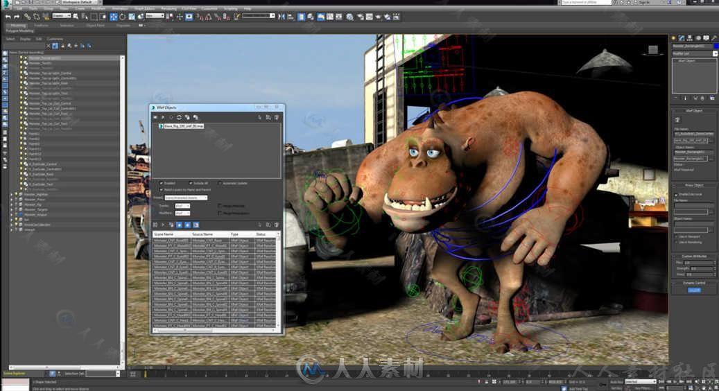 Autodesk 3dsMax三维软件V2019.1.1版60 / 作者:抱着猫的老鼠 / 帖子ID:16745048,4824725