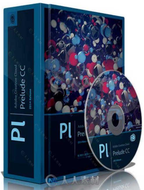 Adobe Prelude CC 2015视频素材整合软件V4.3.0版 Adobe Prelude CC 2015 4.3.0 Win
