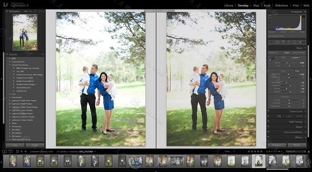 Lightroom Classic 2021图像管理工具V10.1.1版