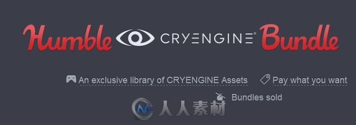 CryEngine游戏引擎扩展资料合辑 CryEngine V Humble Bundle Bonus Assets