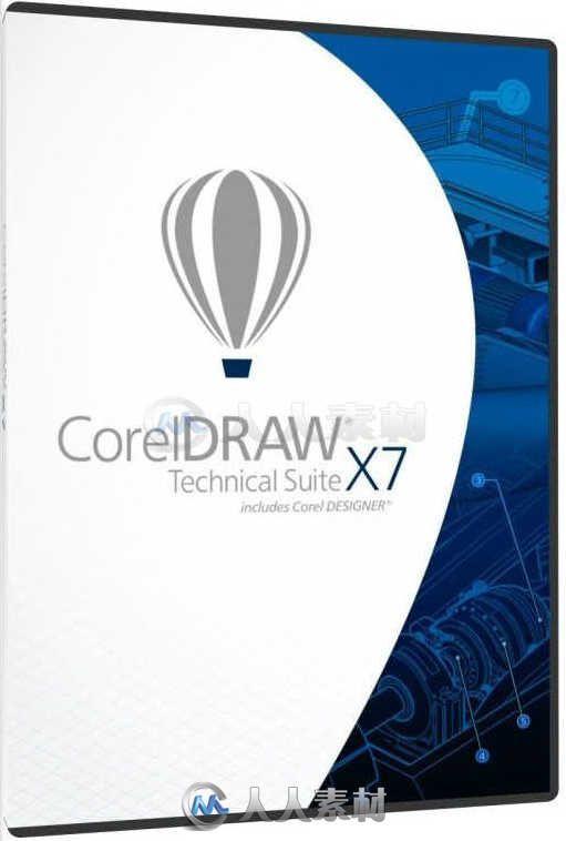 CorelDRAW Technical Suite图形设计套件X7 V17.6.0.1021 UP3.1版 Coreldraw technical suite x7 17.6.0.1021 update 3