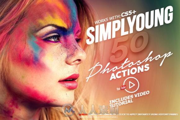 ���ᳯ����Ƭ��ɫPS����Simplyoung_-_Photoshop_Actions_Pack