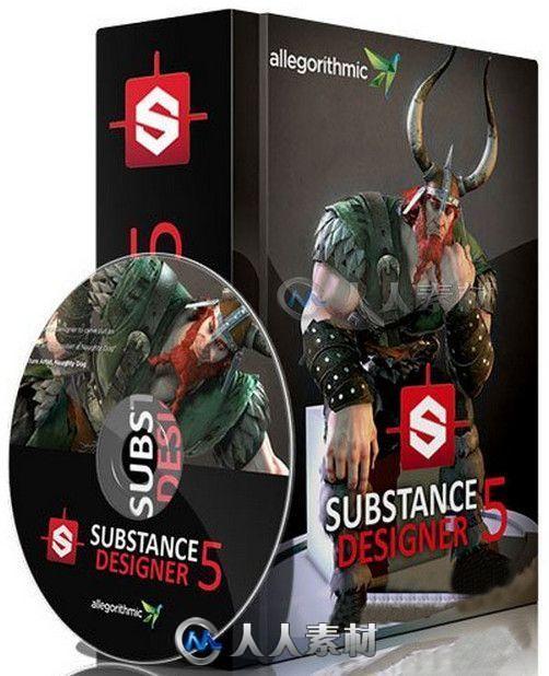 Substance Designer纹理材质制作软件V5.4.0.17854版 Allegorithmic Substance Designer 5.4.0 build 17854 WIN