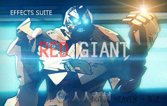 Red Giant Effects Suite红巨星视觉特效插件V11.1.12版合辑