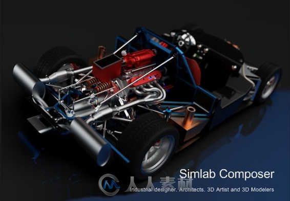 SimLab Composer三维场景制作软件V9.2.17版