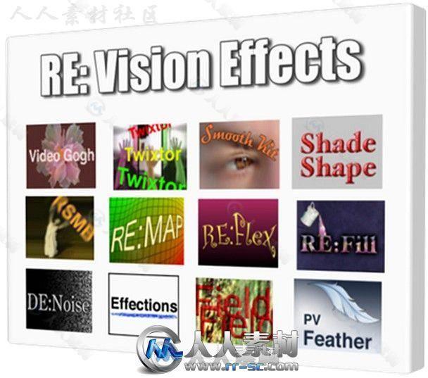 ReVisionFX视频特效AE插件合辑V2018.12版92 / 作者:抱着猫的老鼠 / 帖子ID:16751899,5302123