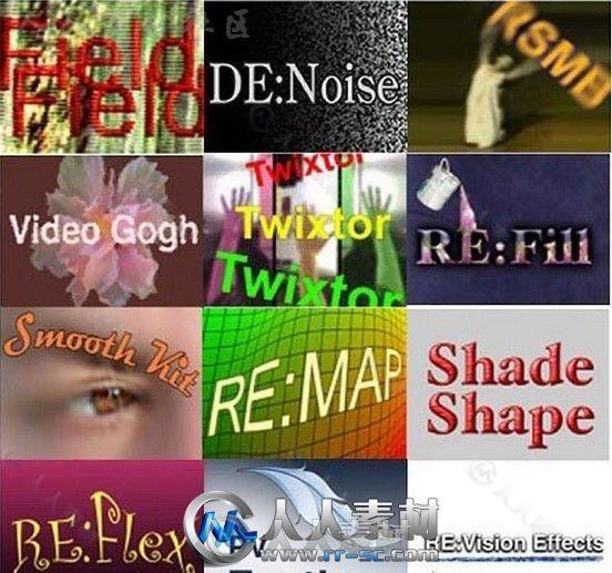 ReVisionFX视频特效AE插件合辑V2018.10版