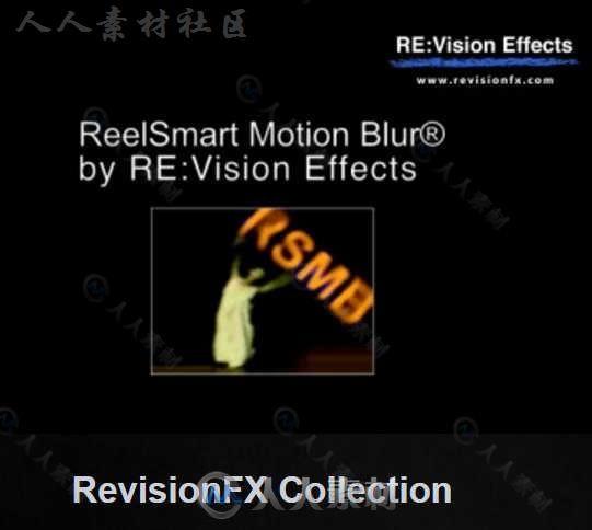 ReVisionFX视频特效AE插件合辑V2018.12版34 / 作者:抱着猫的老鼠 / 帖子ID:16751899,5302123