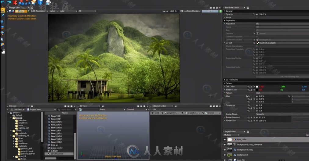 Clarisse IFX动画渲染软件V3.6版