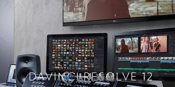 Davinci达芬奇影视调色软件V12.5.1 Mac版 DAVINCI RESOLVE STUDIO 12.5.1 WITH EASYDCP MACOSX