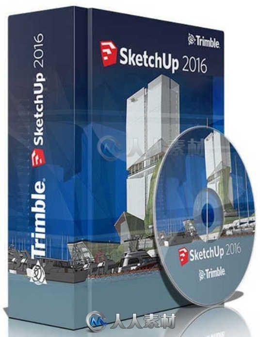 SketchUp三维设计软件2016V16.1.2418 Mac版