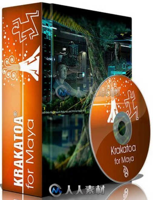 Krakatoa MY粒子渲染器Maya插件V2.6.2版