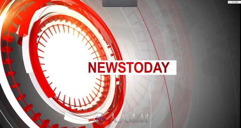 尚今日新闻开场视频电视栏目AE模板 News Today