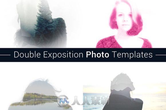 双照片输出特效PS动作