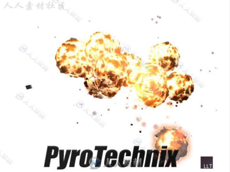 火球爆炸特效着色器Unity素材资源