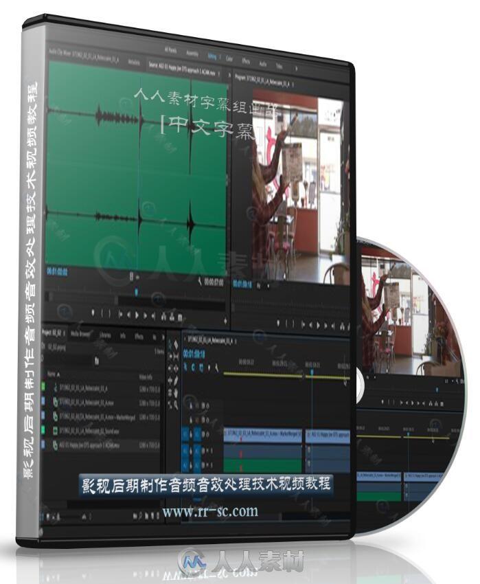 第93期中文字幕翻译教程《影视后期制作音频音效处理技术视频教程》人人素材字幕组