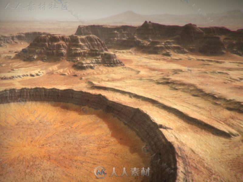 火星环境模型Unity3D素材资源
