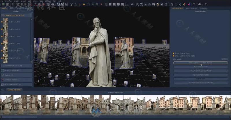 3DFlow 3DF Zephyr照片自动三维化软件V4.009版100 / 作者:抱着猫的老鼠 / 帖子ID:16751131,5228170