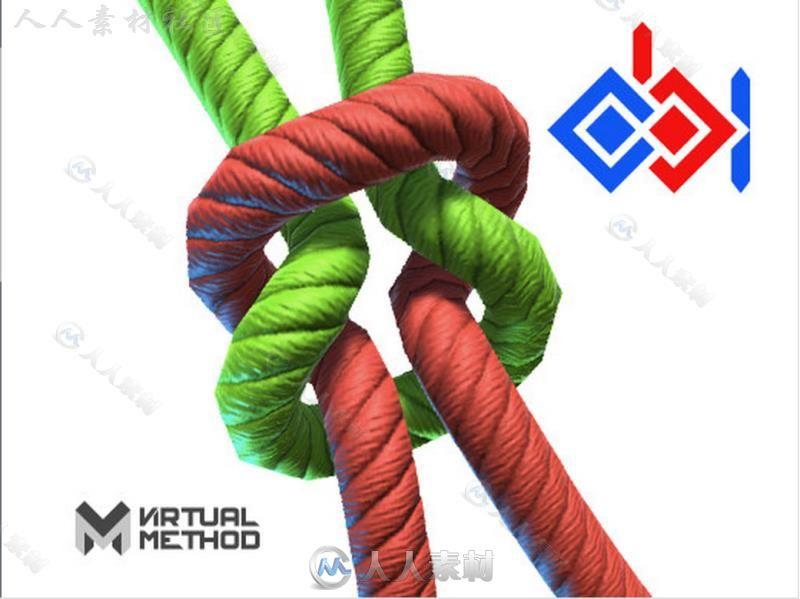 基于粒子的物理绳索模拟物理脚本Unity素材资源