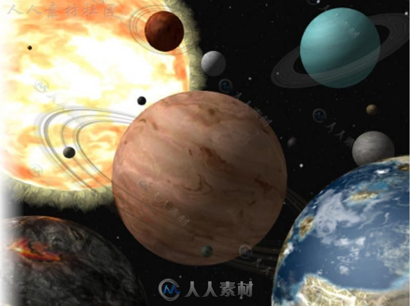 外星行星科幻环境模型Unity3D素材资源