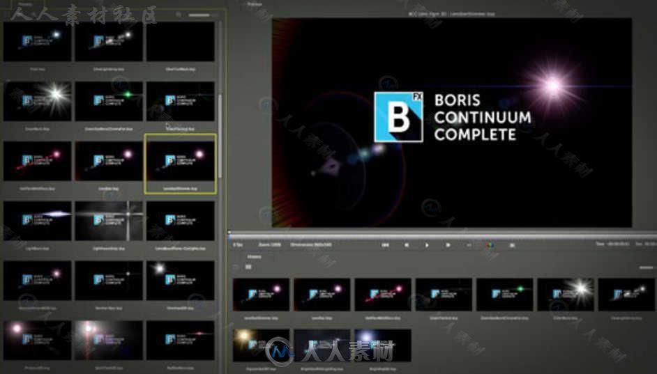 Boris FX Continuum 2019超强特效插件V12.0.4.4282版
