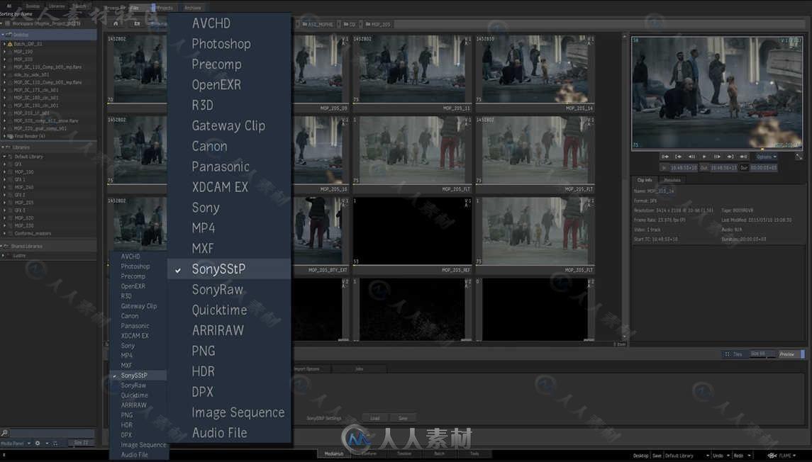 AUTODESK FLAME高端电影剪辑和特效制作软件V2019.0.2 Mac版96 / 作者:抱着猫的老鼠 / 帖子ID:16752015,5311912