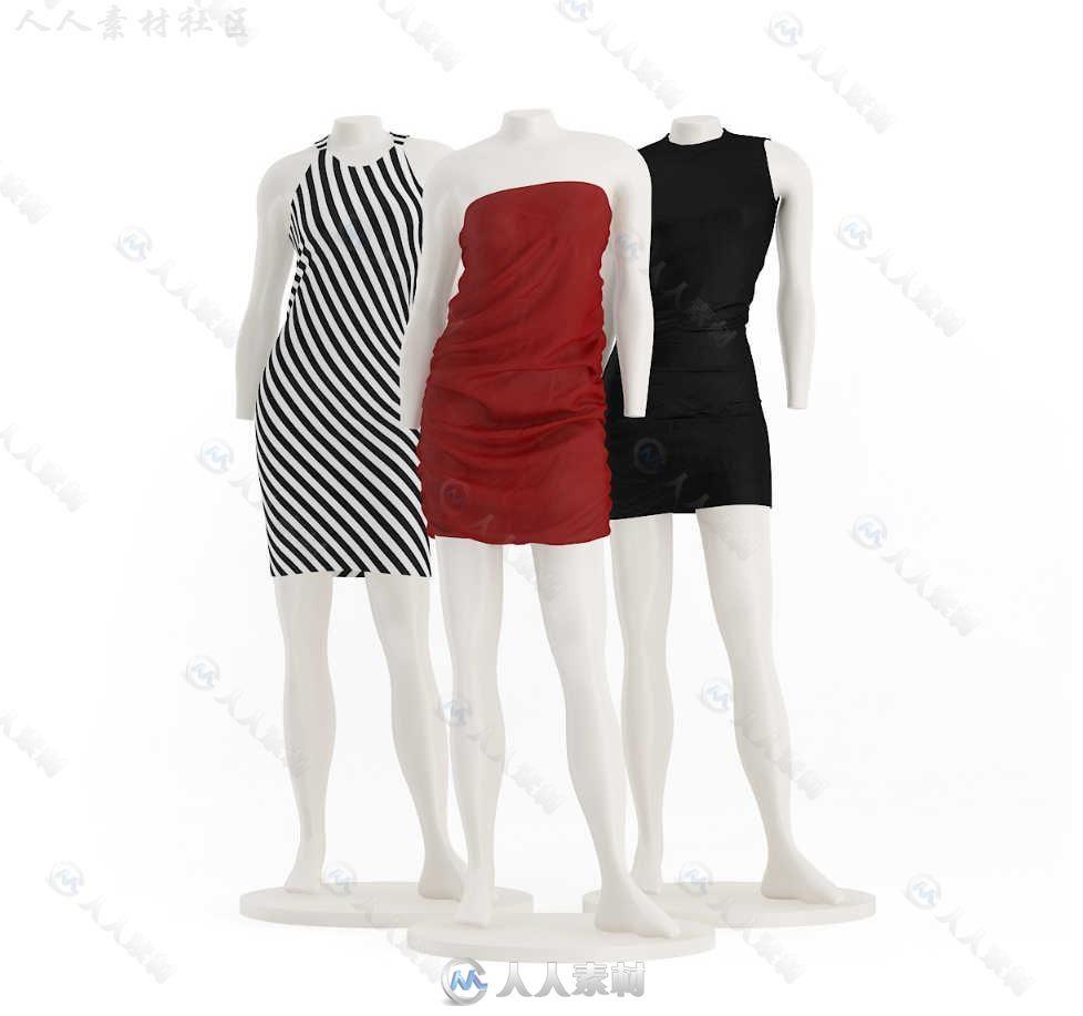 26组高精度超市陈设模型3D外套合辑CGAXIS小香肩设施图片