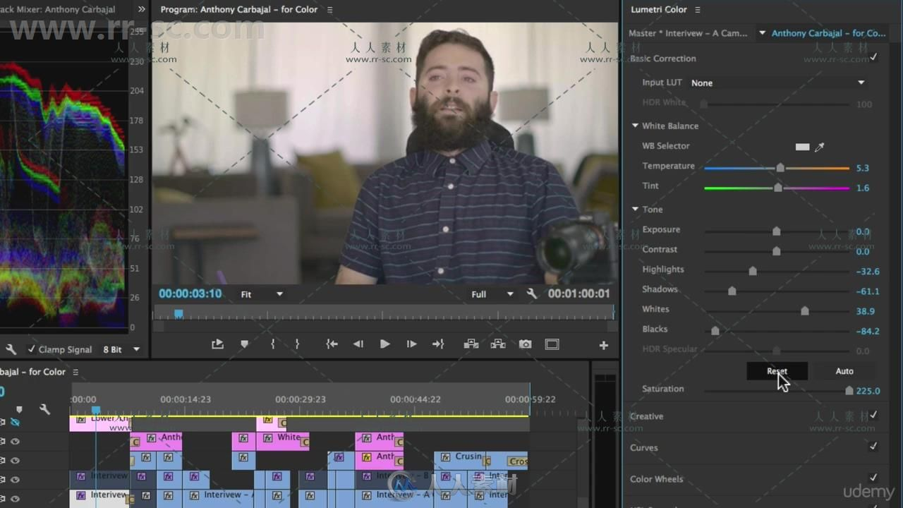 049 Creative Color Correcting with the Lumetri Panel.mp4_20170818_140432.081.jpg