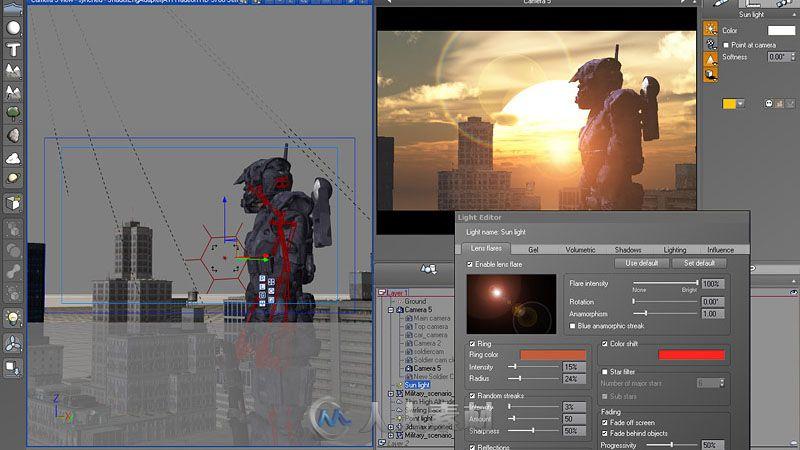 DAZ Studio专业三维角色制作软件V4.12.1.117版