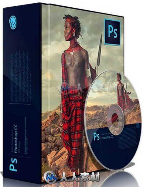 Photoshop CC 2018平面设计软件V19.0.0.24821版