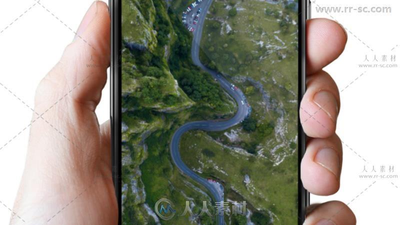 现代苹果手机应用程序宣传推广视频包装AE模板