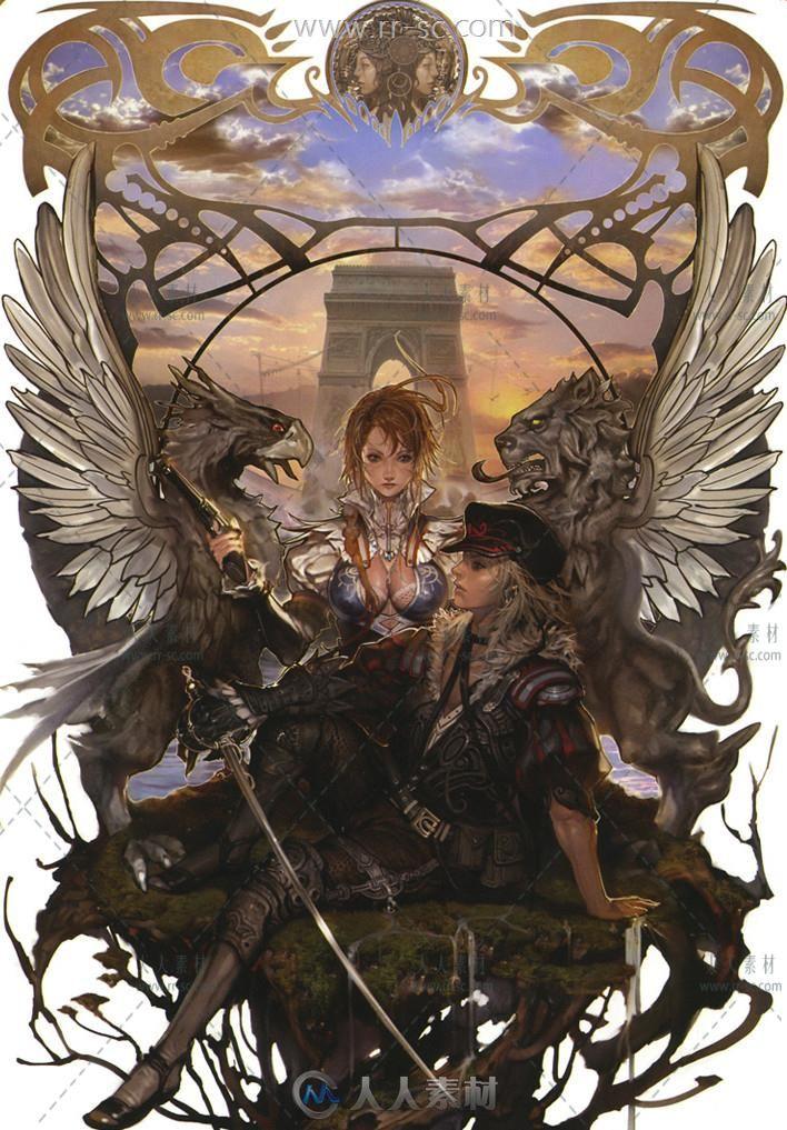 《卓越之剑》游戏原画设定素材集