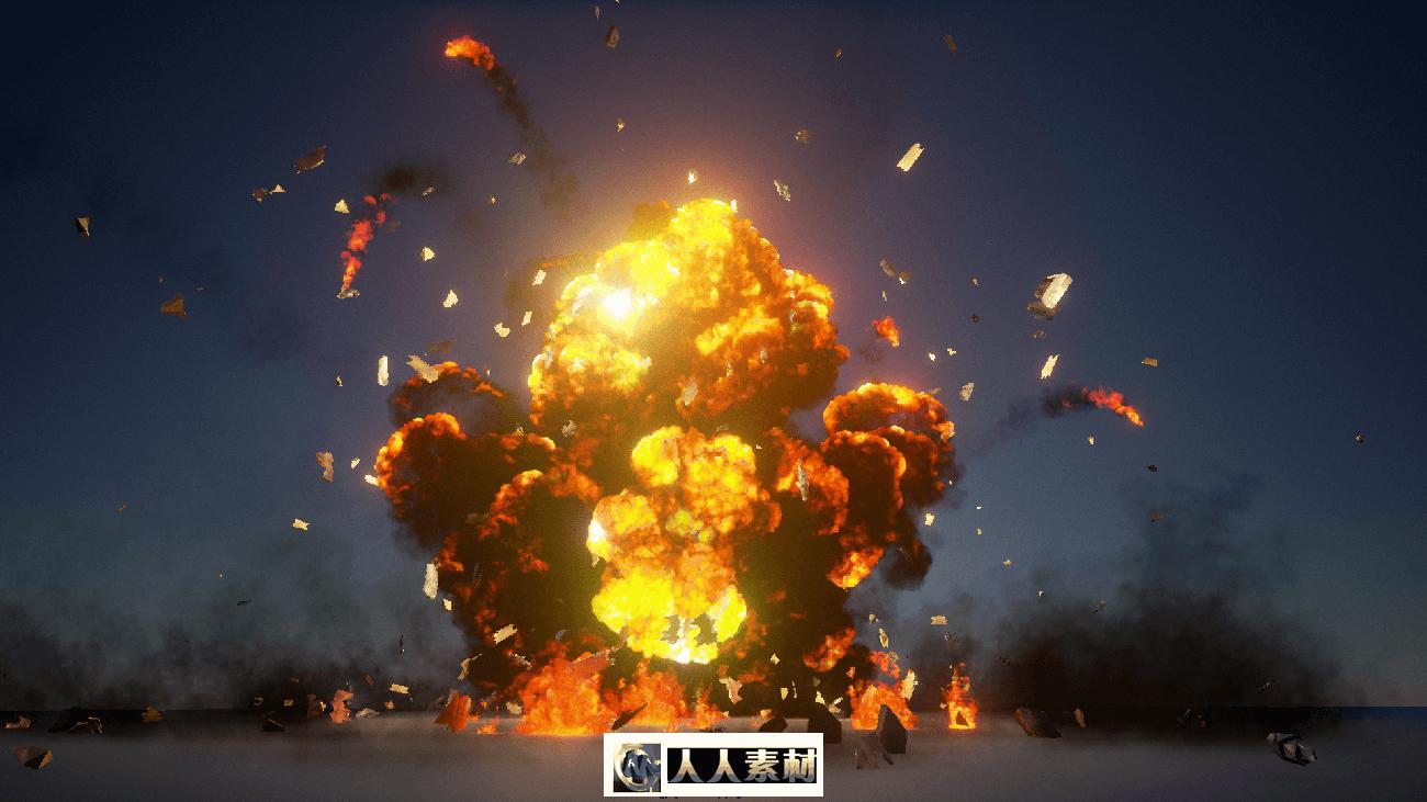 UE4爆炸特效