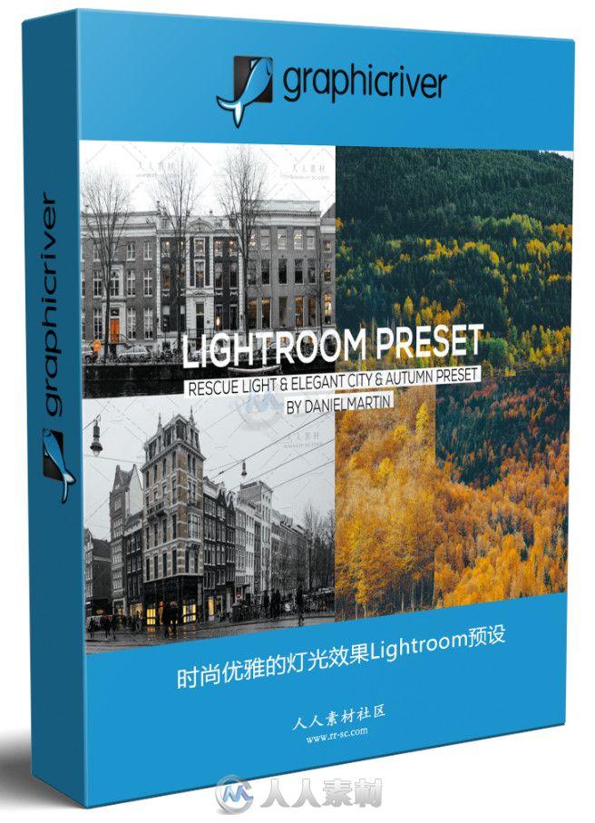 时尚优雅的灯光效果Lightroom预设