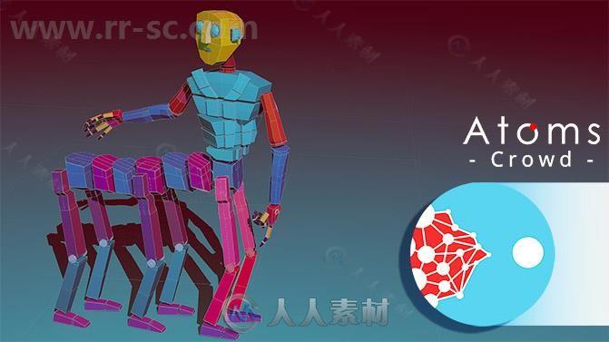 Toolchefs Atoms Crowd群集模拟仿真动画Houdini插件V2.3.9版