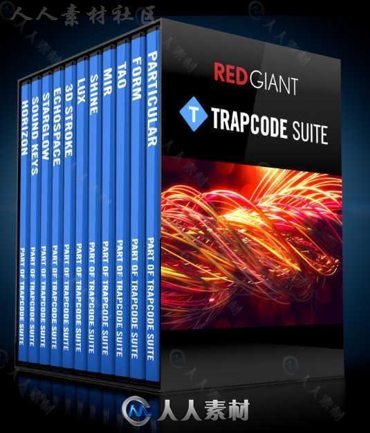 RedGiant Trapcode红巨星视觉特效AE插件包V14.0.4版